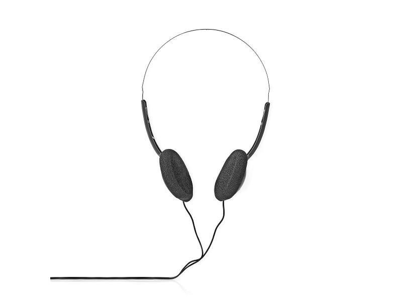 Nedis HPWD1101BK On-Ear Koptelefoon | Bedraad 1,10 m | Zwart