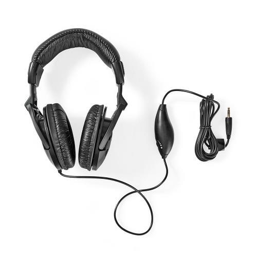 Nedis HPWD3200BK Over-ear Koptelefoon | bedraad 2,50 m | zwart
