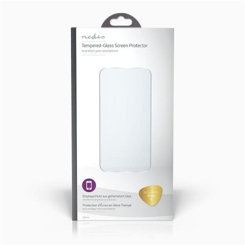 Nedis SGP40003TP Glass Screen Protector voor Nokia 8   Transparant