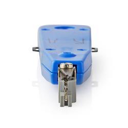 Nedis CCGP89555BU LSA punchdown tool voor LSA krone en strips blauw