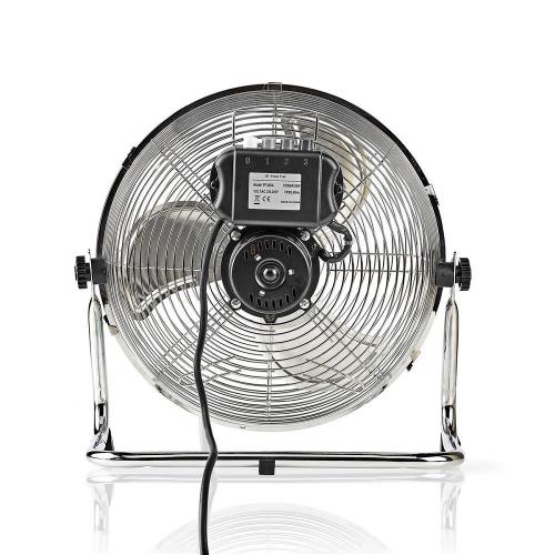 Nedis  Vloerventilator | Diameter 30 cm | 3 snelheden | Chroom