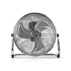 Nedis  Vloerventilator | Diameter 40 cm | 3 snelheden | Chroom