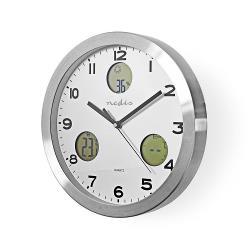 Nedis WEST300WT Wandklok | Weerstation | Hygrometer | Buiten-Unit