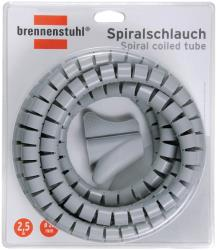 Brennenstuhl 1164360 Spiral coiled tube L = 2,5 m; Ø = 20 mm grey