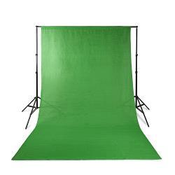 Nedis BDKT10GN Backdropset voor Fotostudio | 2,00 m