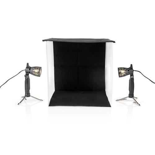 Nedis SKT010WT Fotostudioset | 40 x 40 cm | 2800 K | opvouwbaar