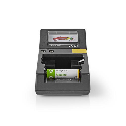 Nedis BATE110 Batterijtester | AAA-, AA-, C-, D-, 9V- en Knoopcelbatterijen