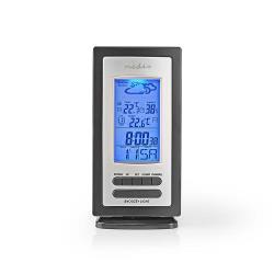 Nedis WEST201GY Weerstation | Alarm | Hygrometer | Buitensensor