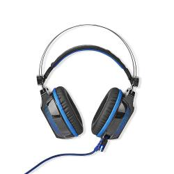 Nedis GHST500BK Gaming Headset | Over-ear | 7.1 Virtual Surround | LED Light | USB Connector