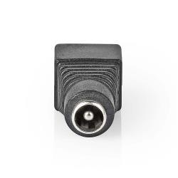Nedis CCTVCF11BK5 Nedis CCTV-Beveiligingsconnector | 5x | 2-aderig naar DC Male | 5,5 x 2,1 mm