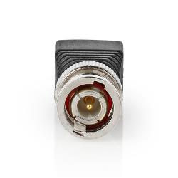 Nedis CCTVCM30BK5 Nedis CCTV-Beveiligingsconnector | 5x | 2-aderige naar BNC Male