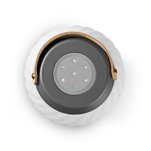 Nedis SPBT35805WT Bluetooth® Speaker   60 W   Werkt tot 6 Uur   True Wireless Stereo (TWS)   Waterbestendig