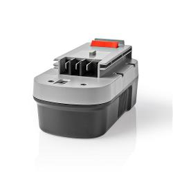 Nedis P3AH3BD18V01 Powertool-Accu | NiMH | 18 V | 3,3 Ah | 59,4 Wh | Vervanging voor Black & Decker
