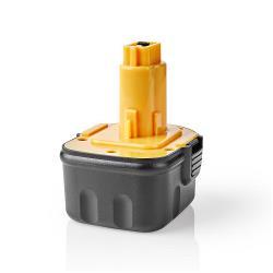 Nedis P3AH3DW12V01 Powertool-Accu | NiMH | 12 V | 3,3 Ah | 39,6 Wh | Vervanging voor Dewalt