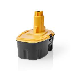 Nedis P3AH3DW18V01 Powertool-Accu | NiMH | 18 V | 3,3 Ah | 59,4 Wh | Vervanging voor Dewalt
