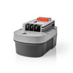 Nedis P3AH3BD14V401 Powertool-Accu | NiMH | 14,4 V | 3,3 Ah | 47,52 Wh | Vervanging voor Black & Decker
