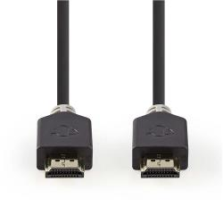 Nedis CVBP35000BK10 Ultra High Speed HDMI™-Kabel | HDMI™-Connector - HDMI™-Connector | 1,00 m | Antraciet
