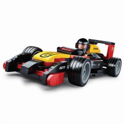 Sluban M38-B0677 Building Blocks Carclub Series Race Car
