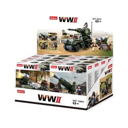 Sluban M38-B0678 Building Blocks WWII Serie WWII Display