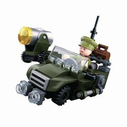 Sluban M38-B0678B Building Blocks WWII Serie Allied Jeep