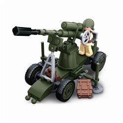 Sluban M38-B0678C Building Blocks WWII Serie Allied Antiaircraft Gun