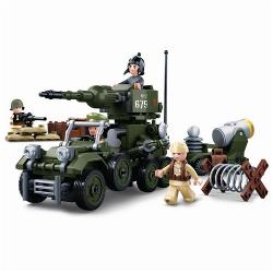 Sluban M38-B0679 Building Blocks WWII Serie WWII Giftbox 4 in 1