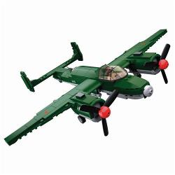Sluban M38-B0688 Building Blocks WWII Serie Tupolev TU-2 Allied Bomber