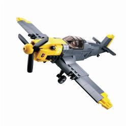 Sluban M38-B0692 Building Blocks WWII Serie Messerschmitt BF 109 Fighter