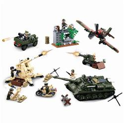 Sluban M38-B0697 Building Blocks WWII Serie Battle of Kursk