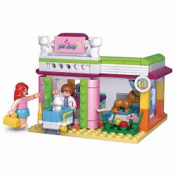 Sluban M38-B0602 Building Blocks Girls Dream Serie Pet Shop