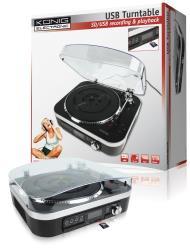 König HAV-TT25USB USB platenspeler met luidsprekers