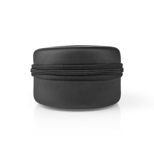 Nedis HPDB200BK Draadloze Koptelefoon | DAB+ / FM / Bluetooth® | Over-Ear | Opvouwbaar | Reisetui | Zwart