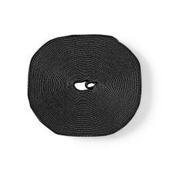 Nedis ERGOVELC91BK Velcro Cable Roll | 9100 x 16 mm | Black