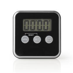 Nedis KATR102BK Keukentimer | Digitaal Display | Zwart