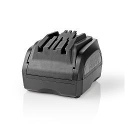Nedis PTCM001FBK Powertool-Lader | Batterij-Uitgang 10,8 - 18 V DC | Festool en Protool