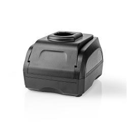 Nedis PTCM002FBK Powertool-Lader | Batterij-Uitgang 7,2 - 18 V DC | Zwart & Decker, Firestorm, Dewalt, Würth