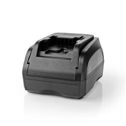 Nedis PTCM006FBK Powertool-Lader | Batterij-Uitgang 18 V | Zwart & Decker, Firestorm, Dewalt