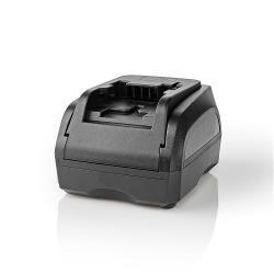 Nedis PTCM007FBK Powertool-Lader | Batterij-Uitgang 14,4 V | Zwart & Decker, Firestorm, Dewalt