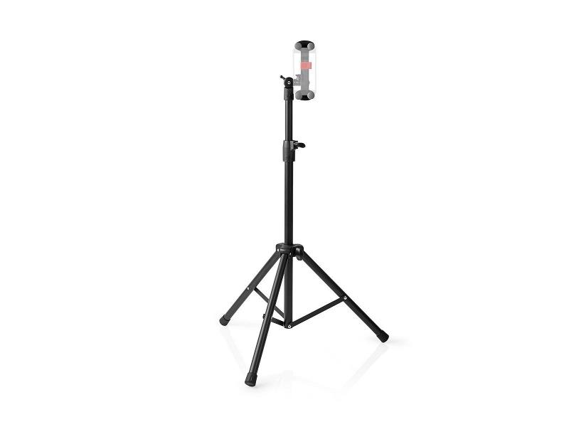 """Nedis TFSD100BK Tablet and Smartphone Mount   Floor Stand   4 - 12""""   Full Motion"""