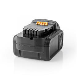Nedis P4AHDW14V401 Powertool-Accu | Li-Ion | 14,4 V | 4 Ah | 57,6 Wh | Vervanging voor Dewalt