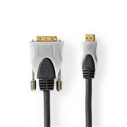 Nedis CCGC34800AT25 HDMI™ - DVI Cable   HDMI™ Connector - DVI-D 18+1-Pin Male   2.50 m   Black