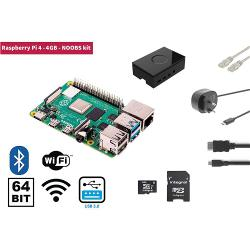 Raspberry Pi RP4KIT4GB Raspberry Pi 4 4 GB Starter Kit + NOOBS Software Tool