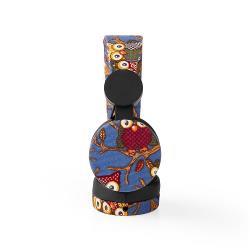 Nedis HPWD4101BK Bedrade Koptelefoon | 1,2 m Ronde Kabel | On-Ear | Uil | Zwart