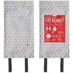 Elro ELRO FB1500 Blusdeken 1.20m x 1.20m ? Design Industrial Cubes ? Grijs (1)