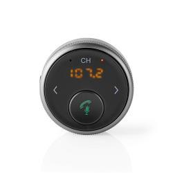 Nedis BTMA100BK Bluetooth® Multi-Adapter | Hands-Free Bellen | FM | Tot 5,5 Uur Speeltijd | Voice Control