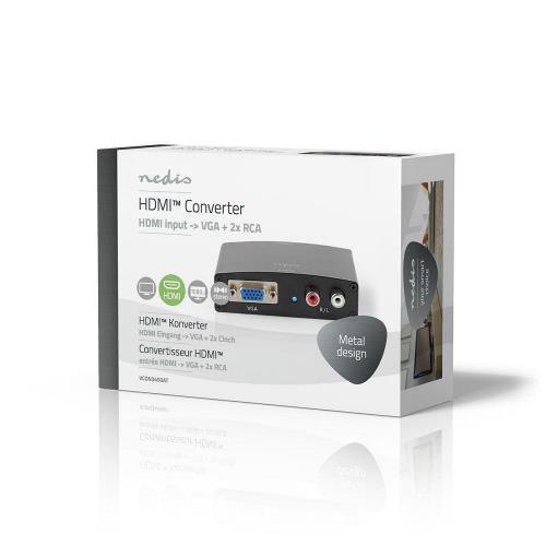 Nedis VCON3450AT HDMIT Converter   HDMIT to VGA