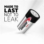 Energizer 53542682305 Alkaline Batterij D 1.5 V Max 2-Blister
