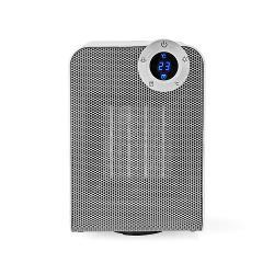 Nedis WIFIFNH20CWT Slimme Ventilatorverwarming met Wi-Fi | Compact | Thermostaat | Oscillatie | 1800 W | Wit