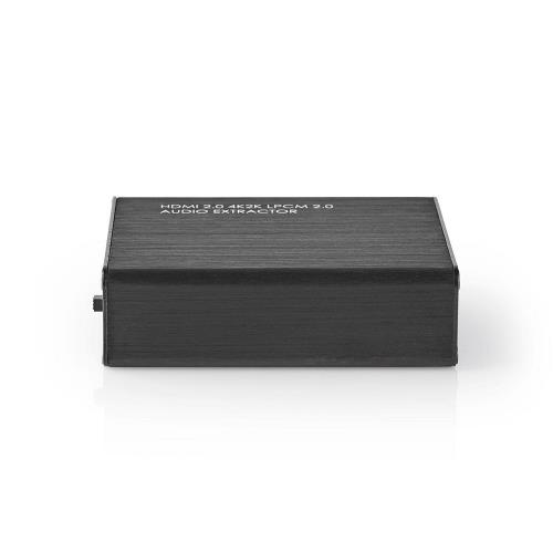 Nedis VEXT3470AT HDMIT Audio Extractor   Digital and Stereo - 1x HDMIT Input   1x HDMIT Output + TosLink + 3.5 mm