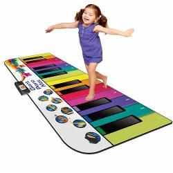 Rainbow colours Giant piano mat Rainbow colours giant piano mat (1)